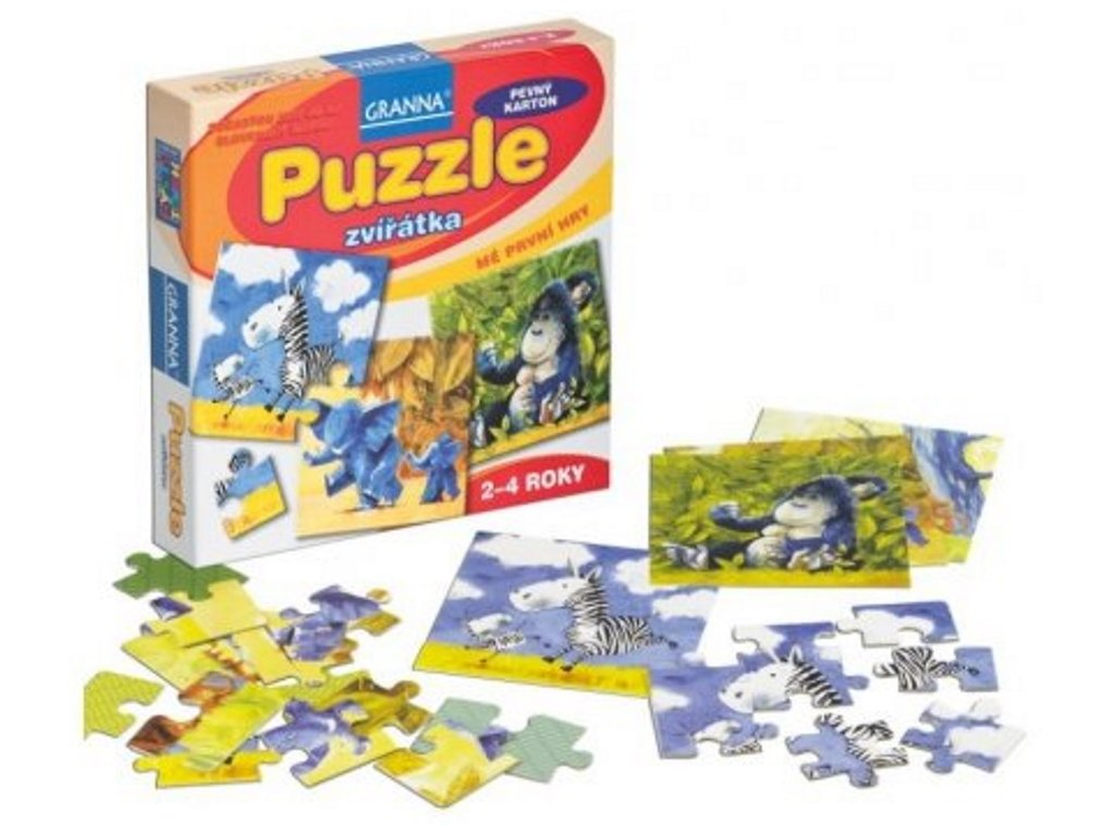 Granna | Puzzle zvířátka