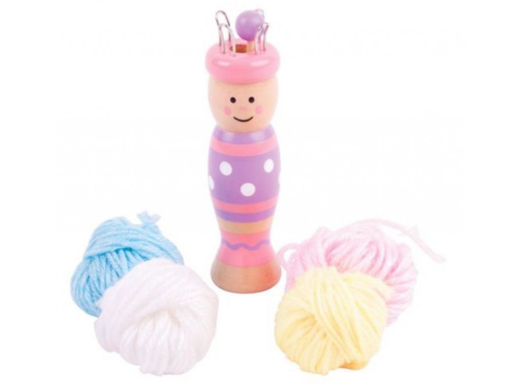 Bigjigs Toys | Pletací panenka