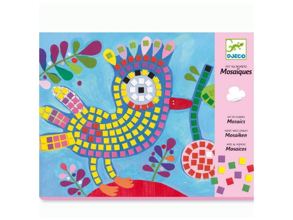 Djeco | Mozaika Beruška a ptáček