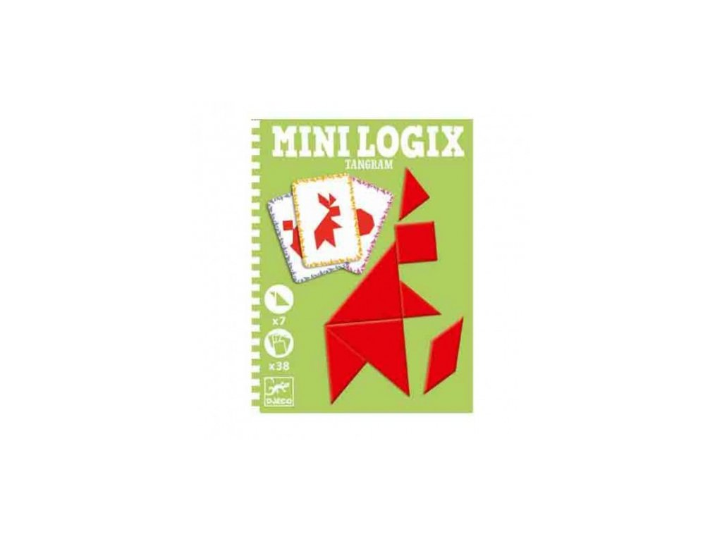 Djeco | Mini logix - Tangram