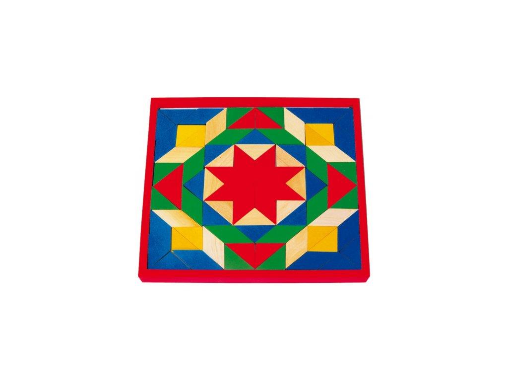 Legler | Dřevěná mozaika na desce