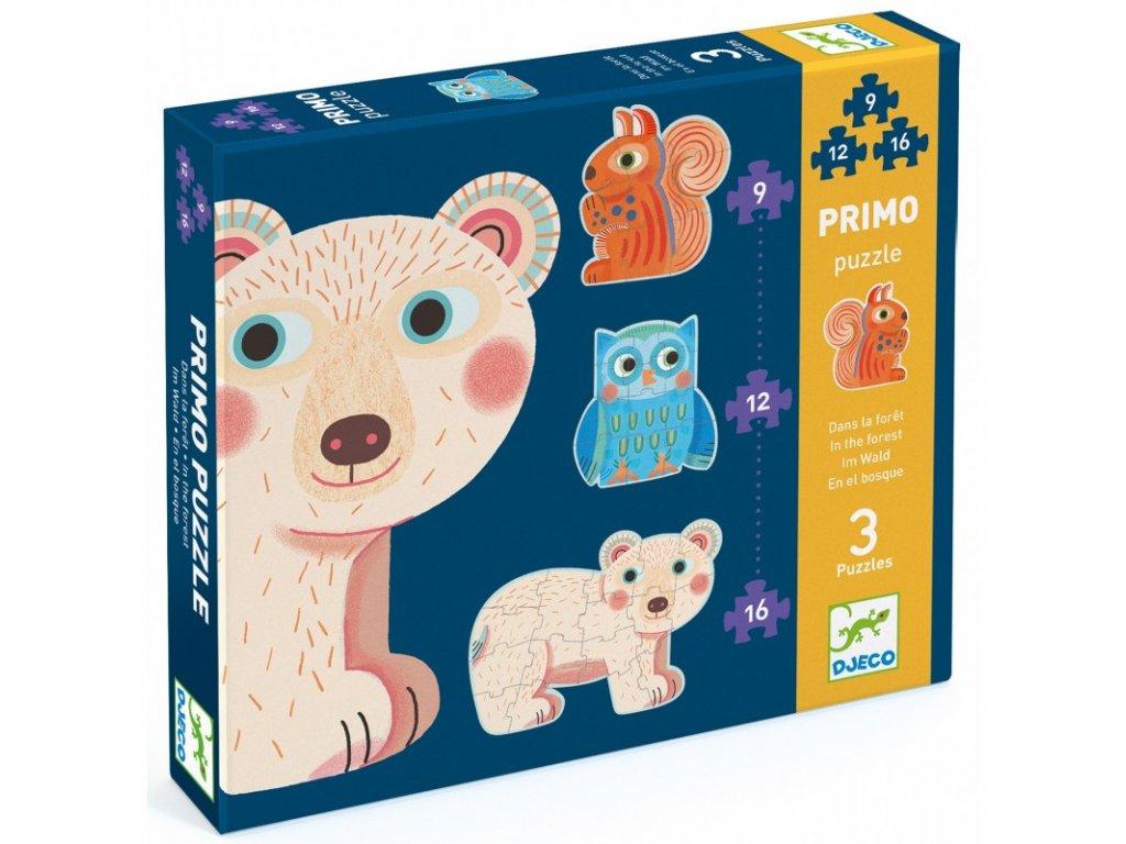 Djeco | První puzzle V lese