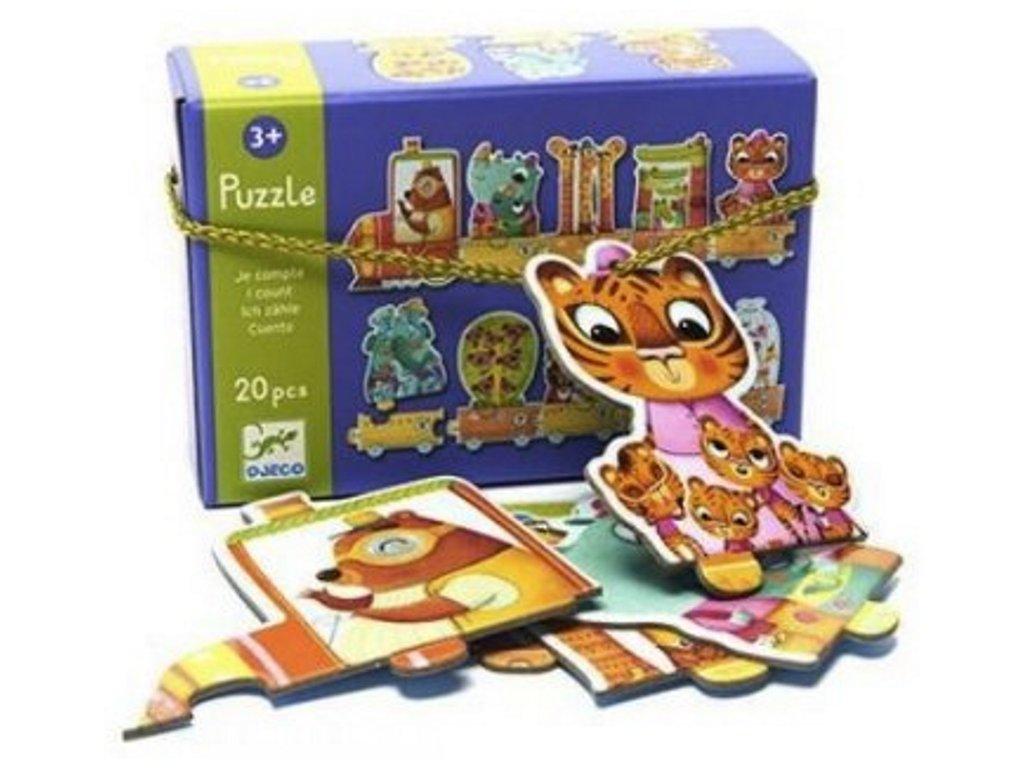 DJ08150 djeco puzzle kolik nás je