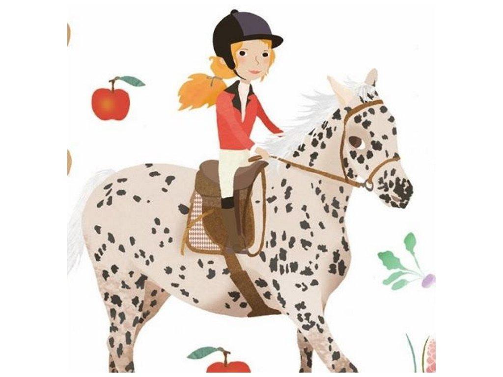 Djeco | Samolepky Koně