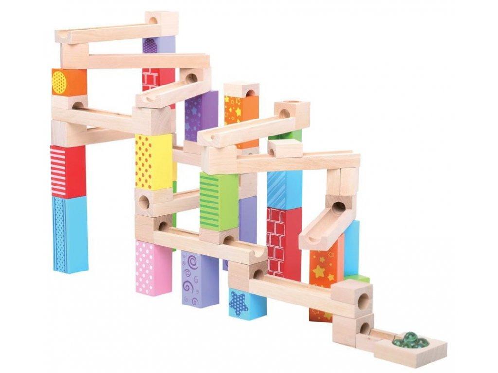 Bigjigs Toys | Dřevěná kuličková dráha