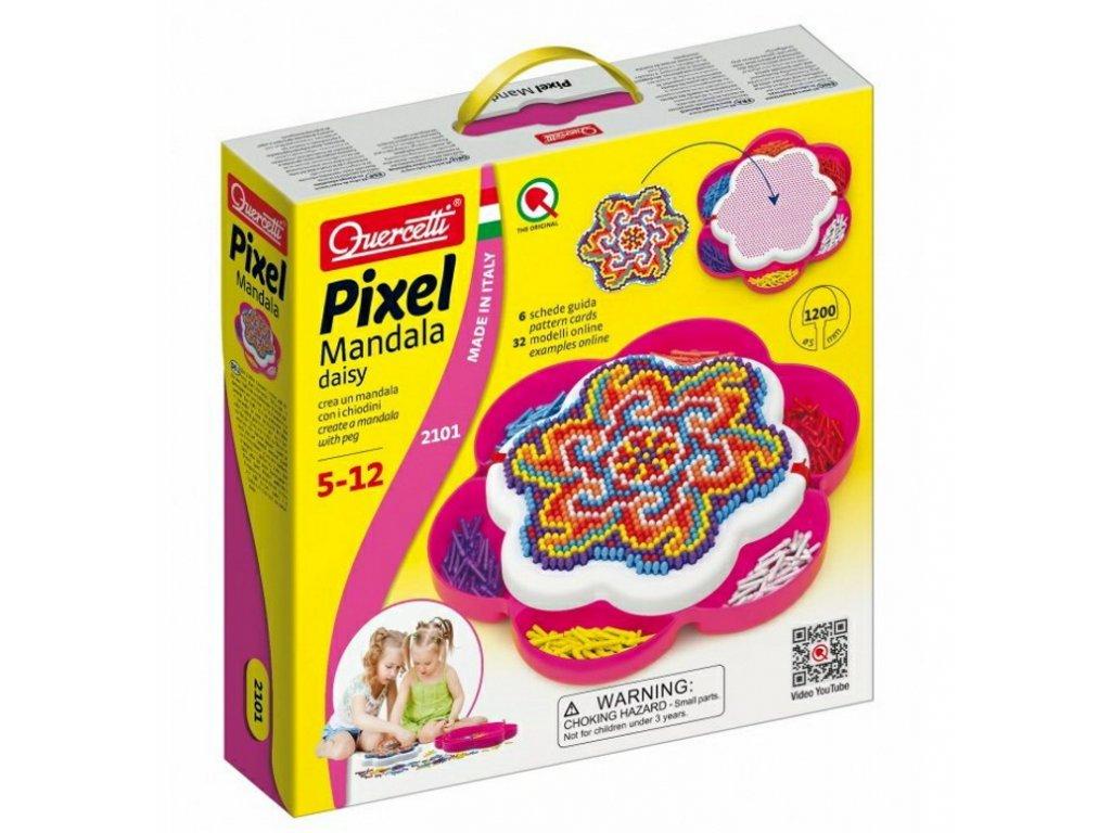 2101 Quercetti Pixel Mandala daisy 1