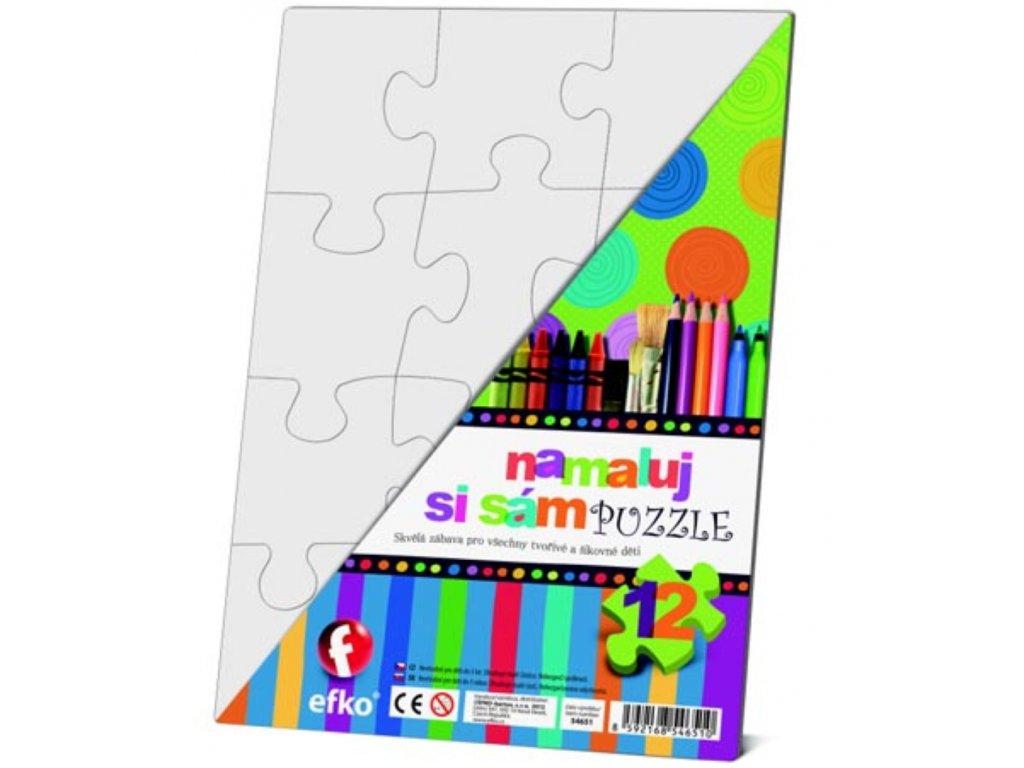 Efko | Namaluj si sám Puzzle obdélník