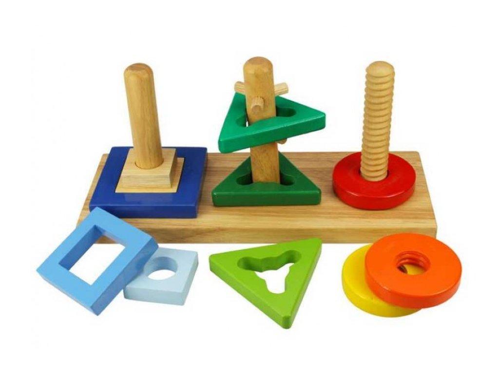 Bigjigs Toys | Nasaď a otoč