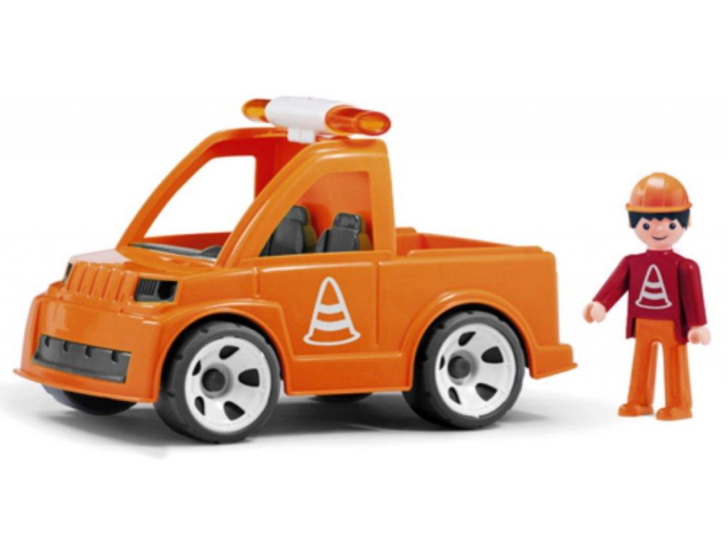 Efko | Igráček Vozidlo silniční údržby s cestářem