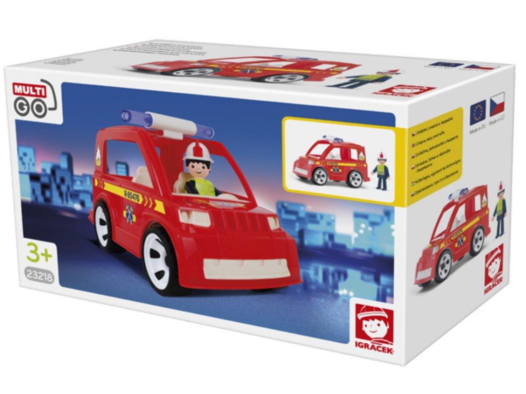 Efko | Igráček Hasičské auto s hasičem