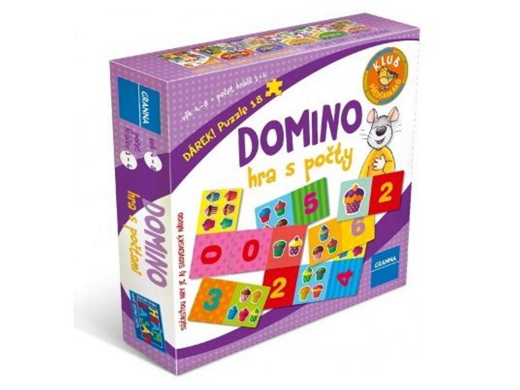 13863 granna domino hra s pocty