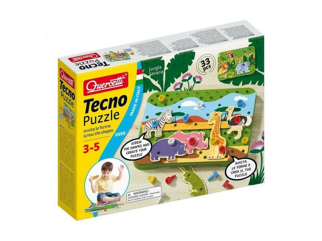 0556 Quercetti Tecno Puzzle 1