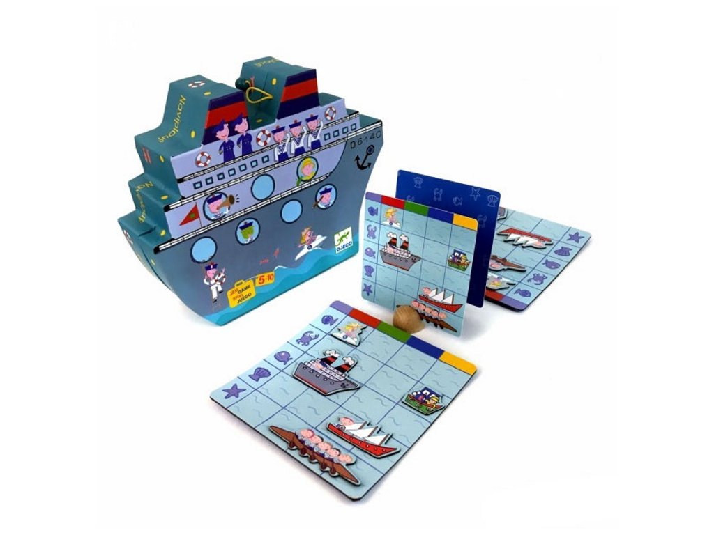 DJ05270 djeco hra lodě