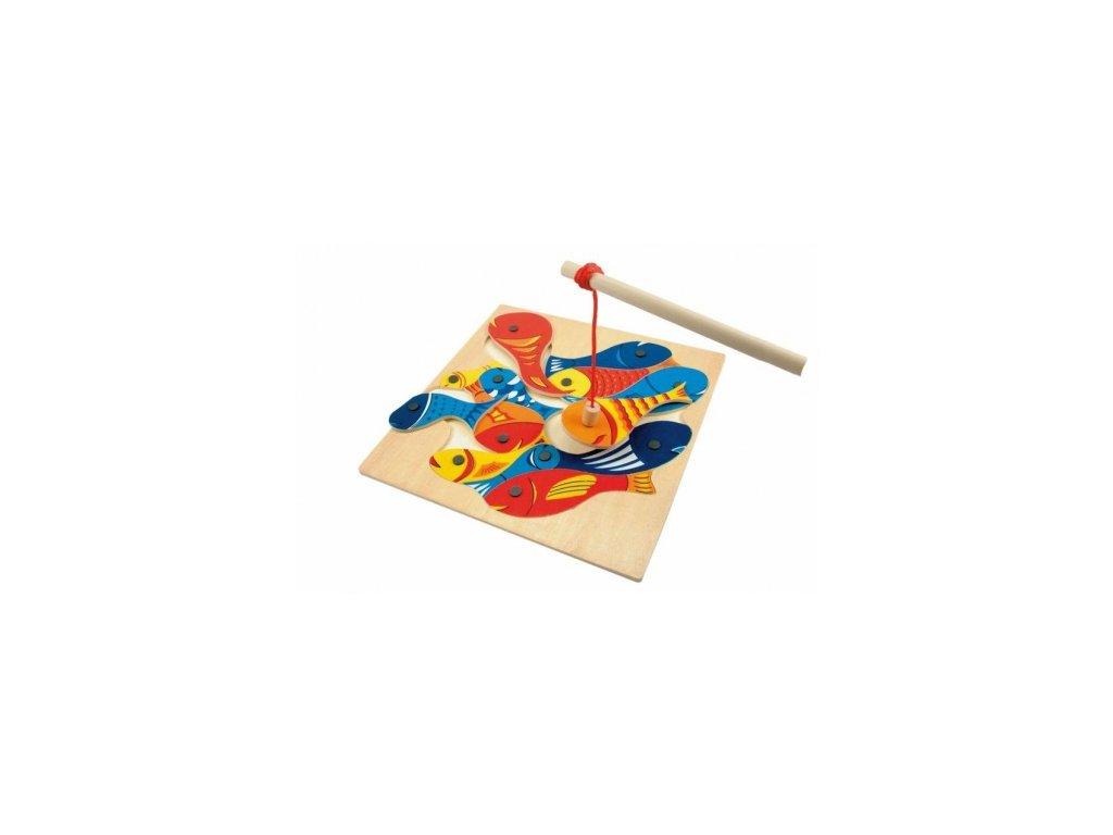 Woody | Rybičky s udičkou - magnetická hra