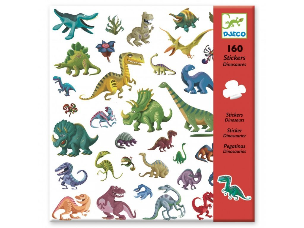 Djeco | Samolepky Dinosauři