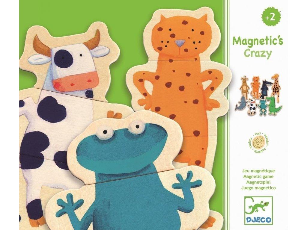 Djeco | Magnety Legrační zvířátka (24 ks)