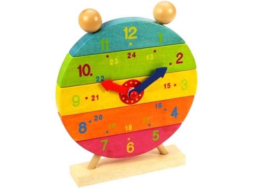 Bigjigs Toys | Dřevěné nasazovací hodiny