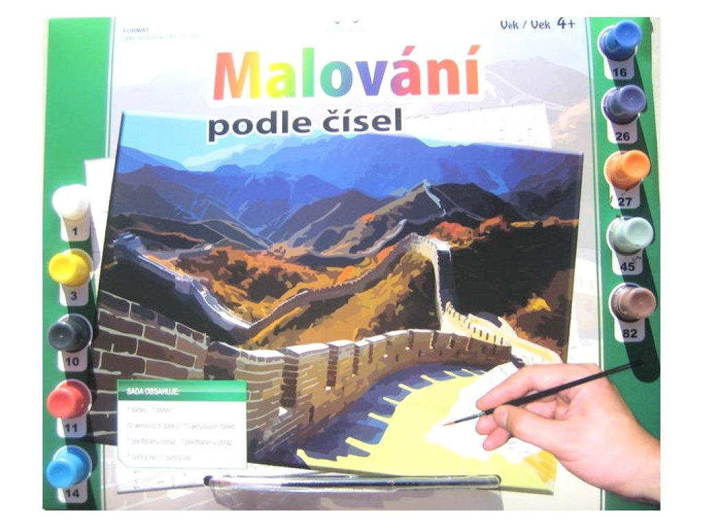 Malovani podle cisel Velka cinska zed ZBMAL0011 6913
