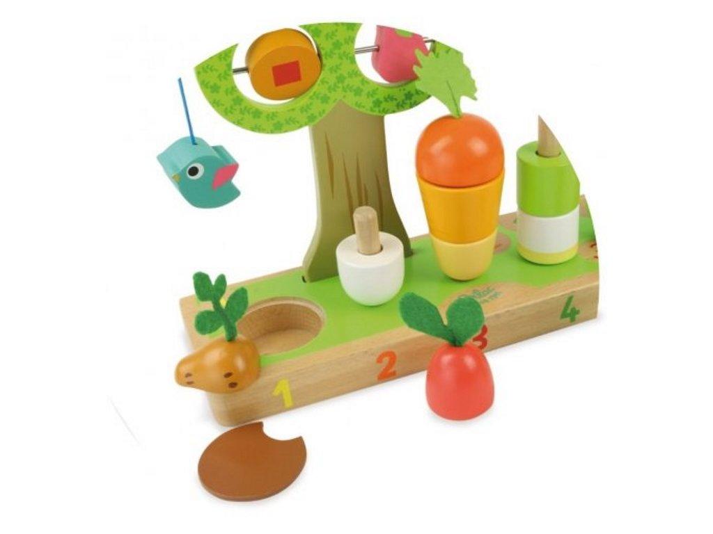 Vilac | Multifunkční hračka Zahrádka