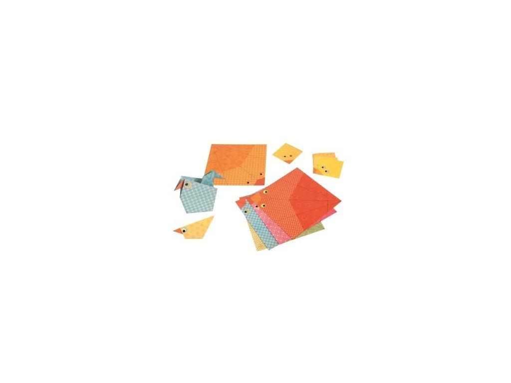 Egmont Toys | Origami Ptáčci v tubě 17 ks