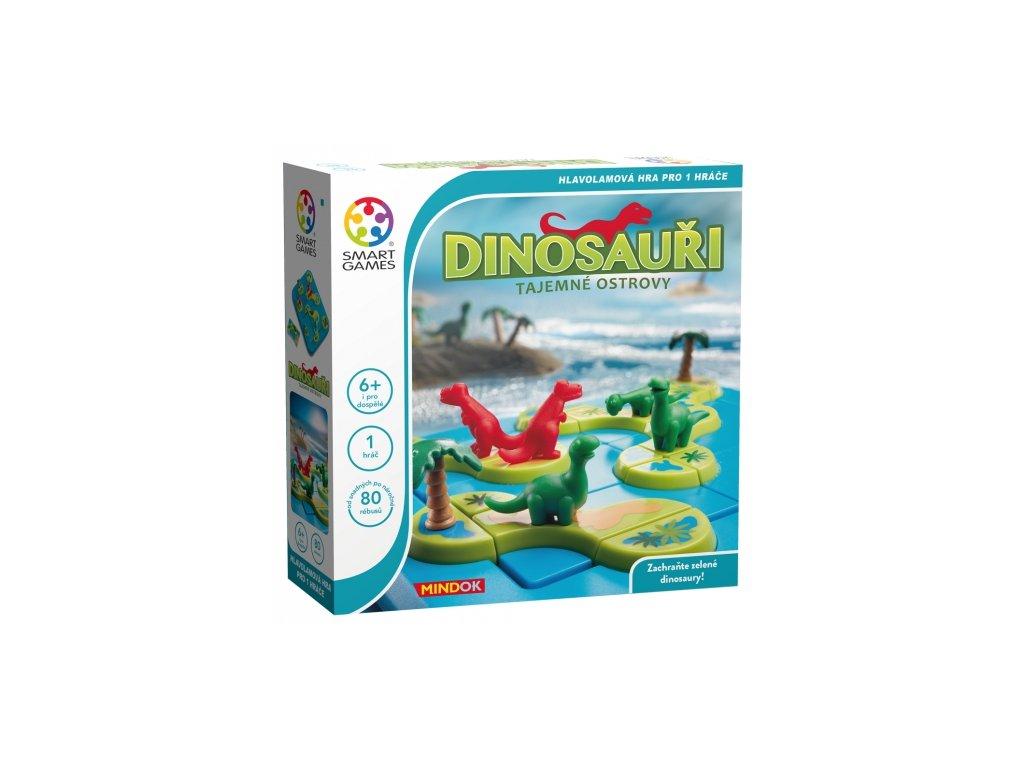 SMART Dinosauři Tajemné ostrovy
