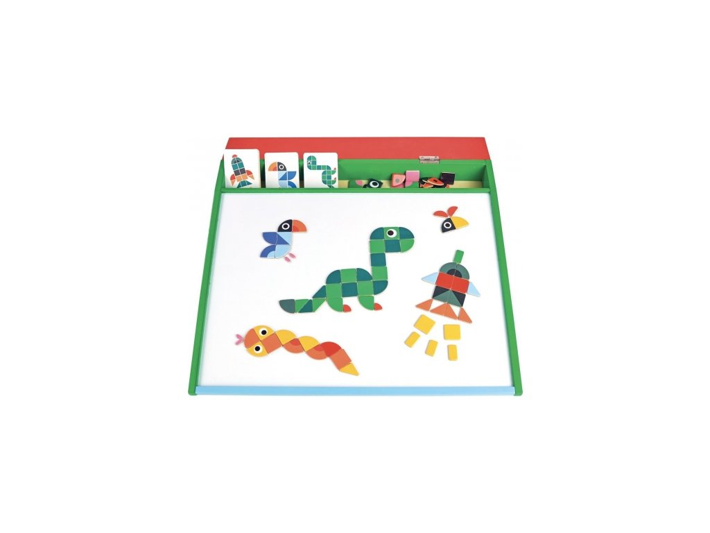 Vilac | Magnetická mozaiková tabulka s obrázky