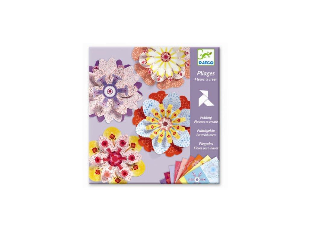 Djeco | Origami Kytky k dotvoření