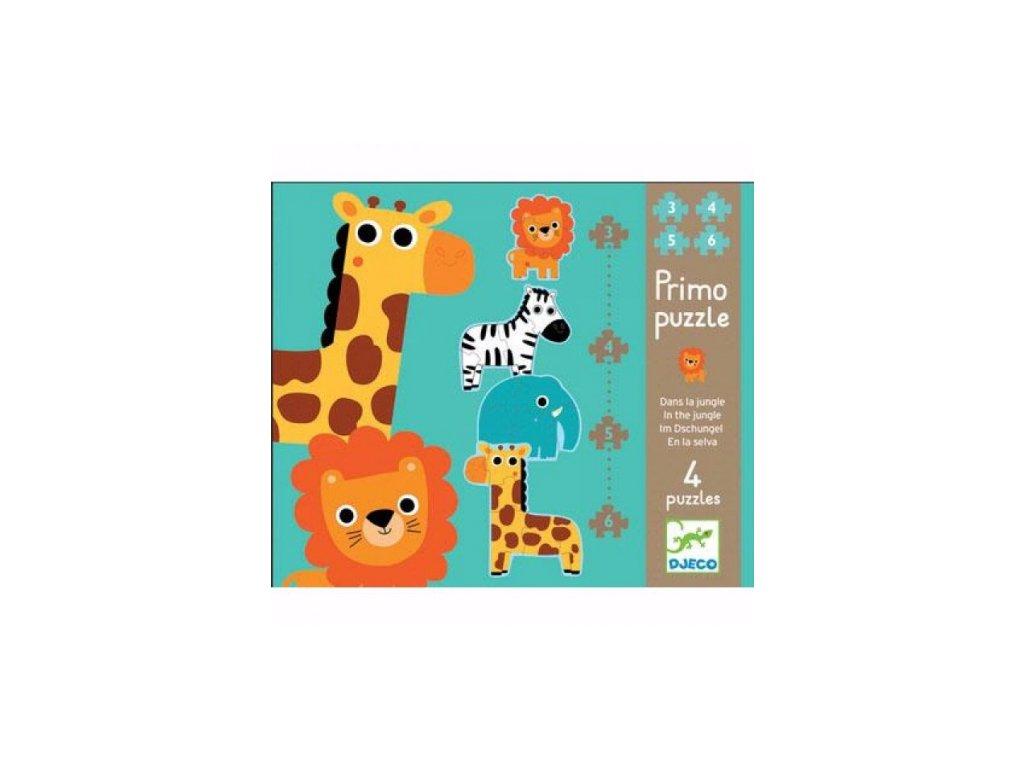 Djeco | První puzzle Džungle