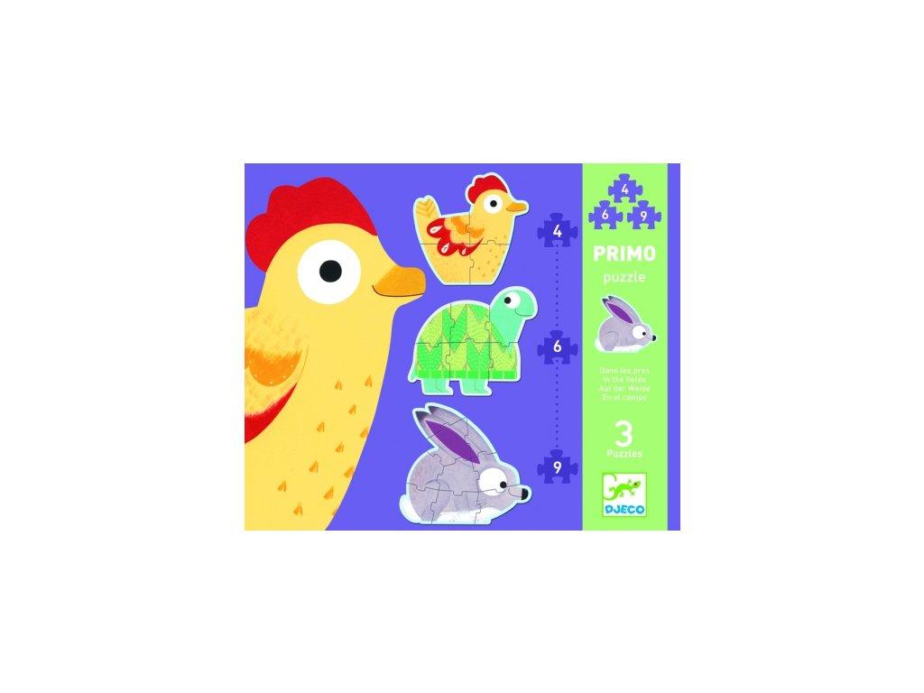 Djeco | První puzzle Na louce