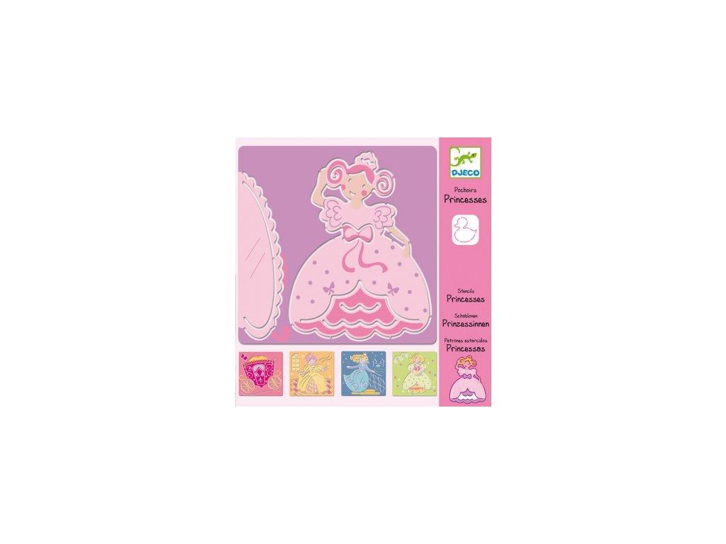 Djeco | Šablony Princezny