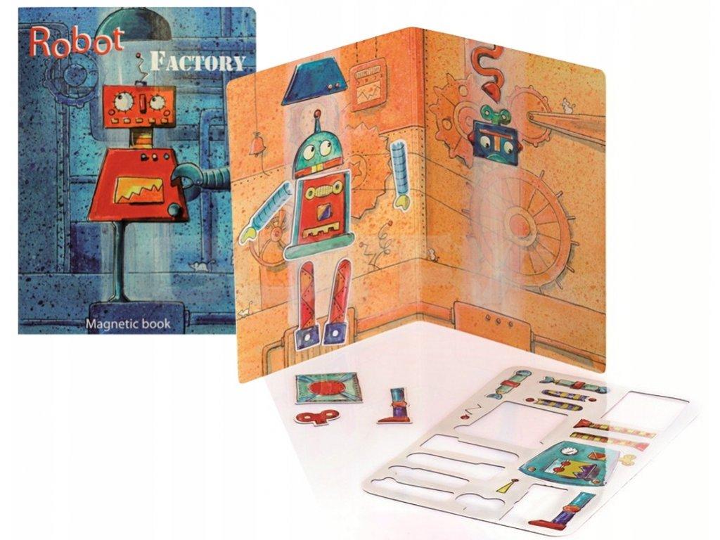 Egmont Toys | Magnetická hra Robotí továrna