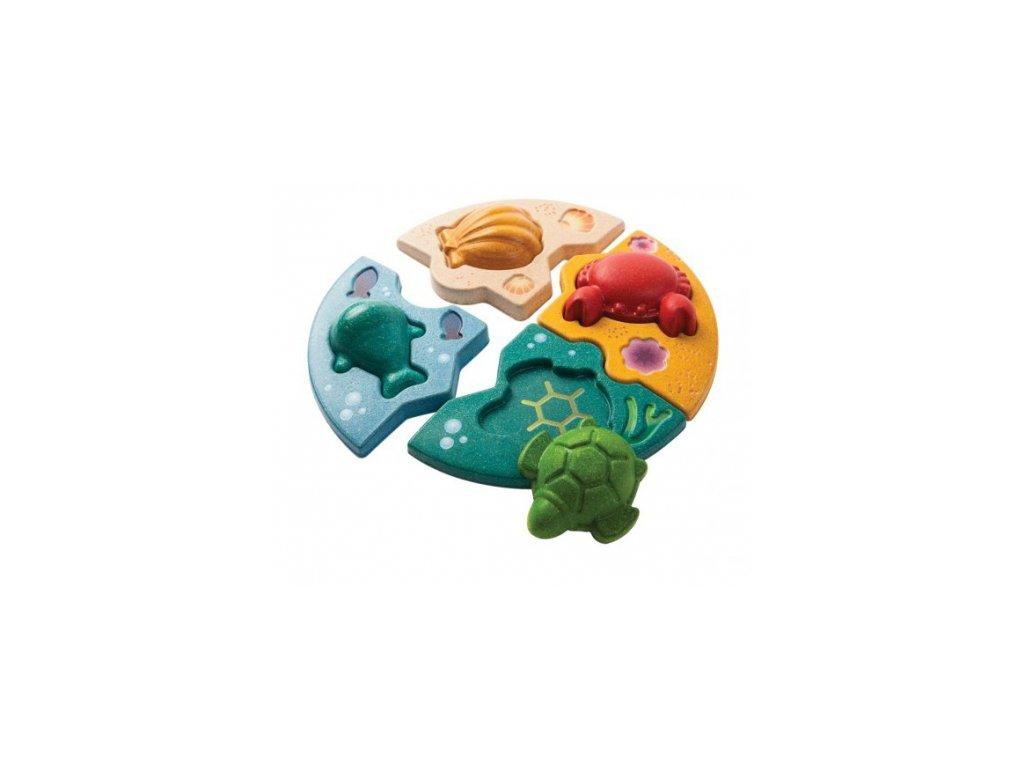 Plan Toys | Puzzle - Mořský život