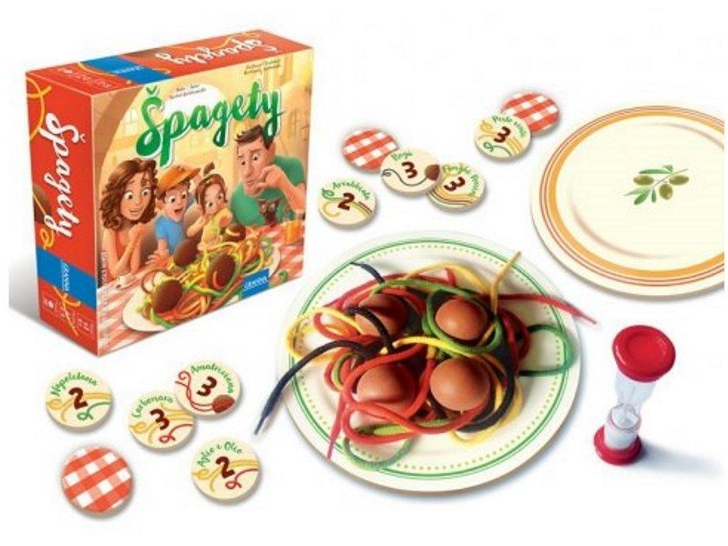 Granna | Hra Špagety