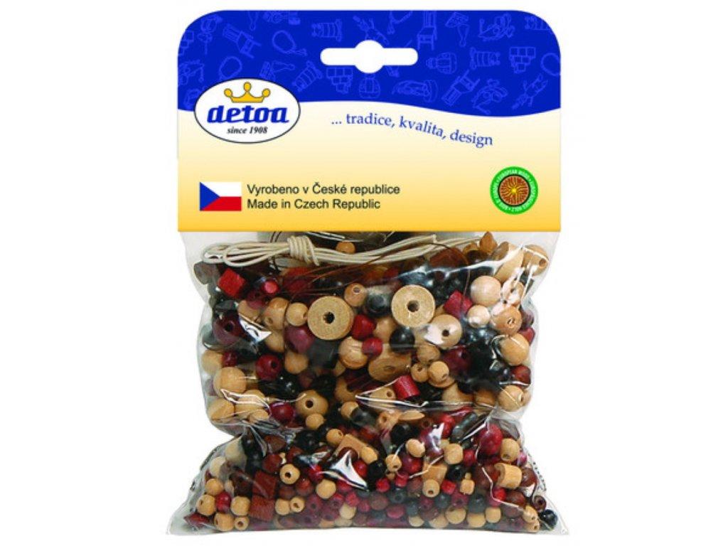 Detoa   Mix perlí hnědo-přírodní 70g