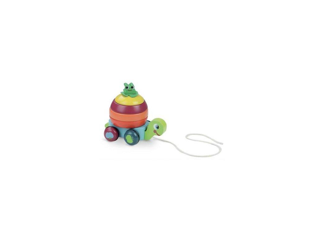 Vilac | Dřevěná tahací hračka Želva