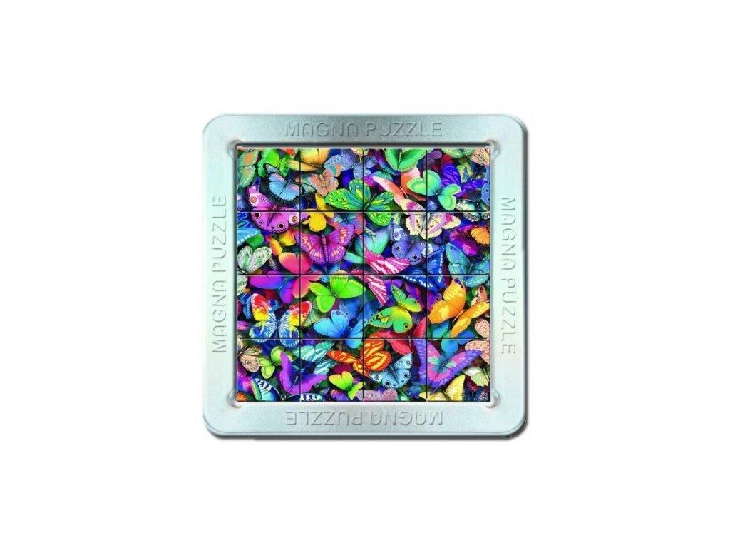 Piatnik | 3D Magnetické puzzle Motýli 16 dílků