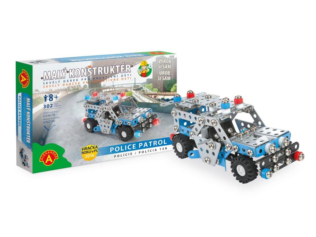 Alexander | Malý konstruktér - POLICIE 158 Police Patrol