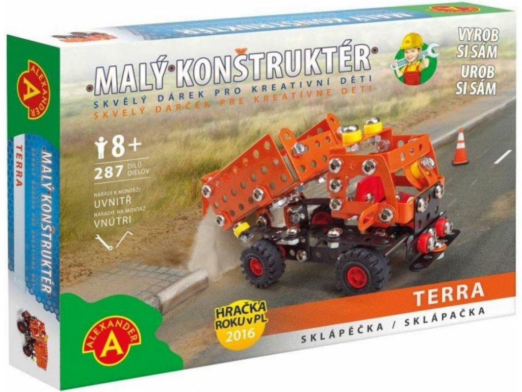 Alexander   Malý konstruktér - SKLÁPĚČKA Terra (Cestáři)