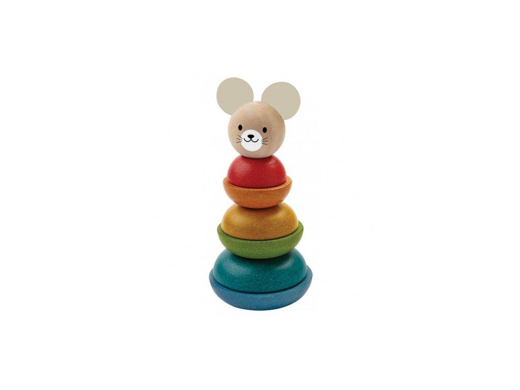 Plan Toys | Stohovací myš