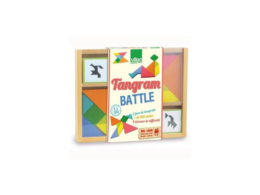 Vilac | Dřevěný Tangram (duel)