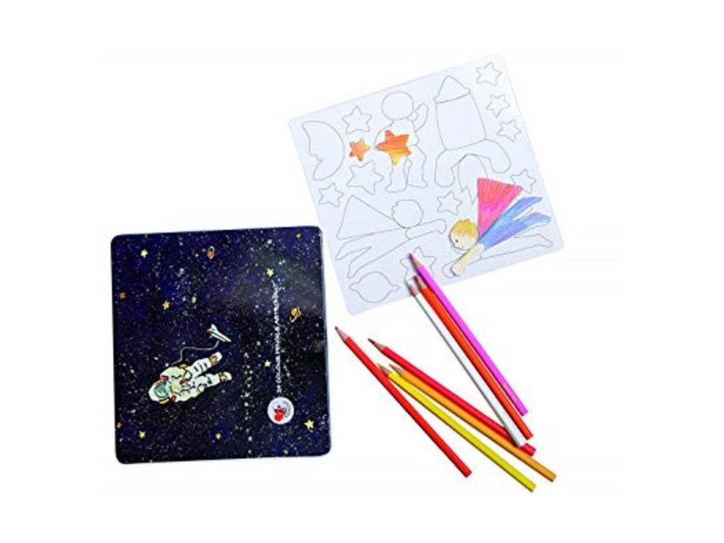 Egmont Toys | Magnety a pastelky Kosmonaut