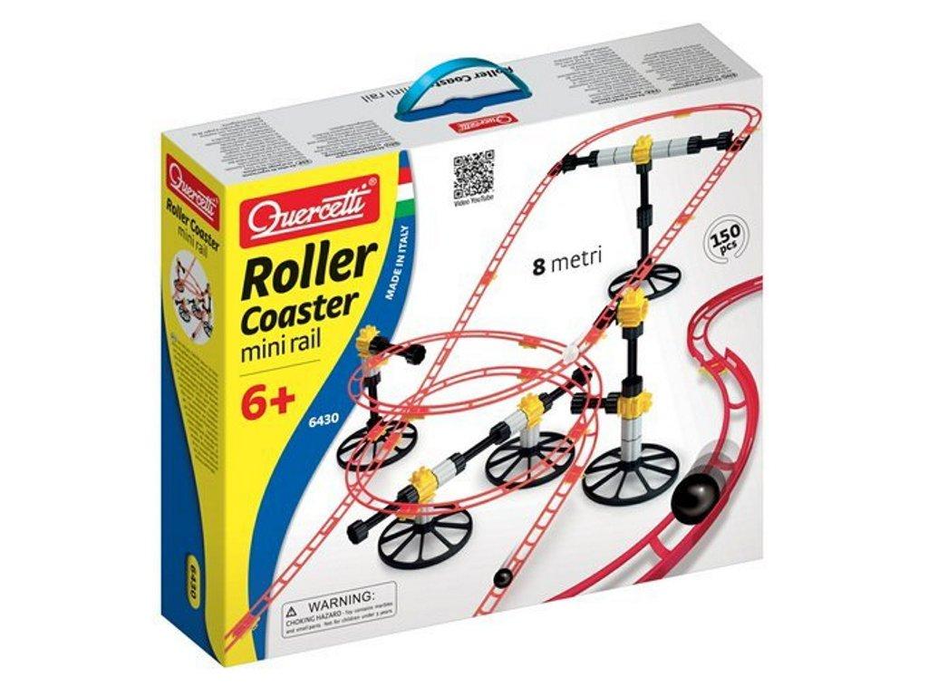 6430 Quercetti Roller Coaster Mini Rail 1