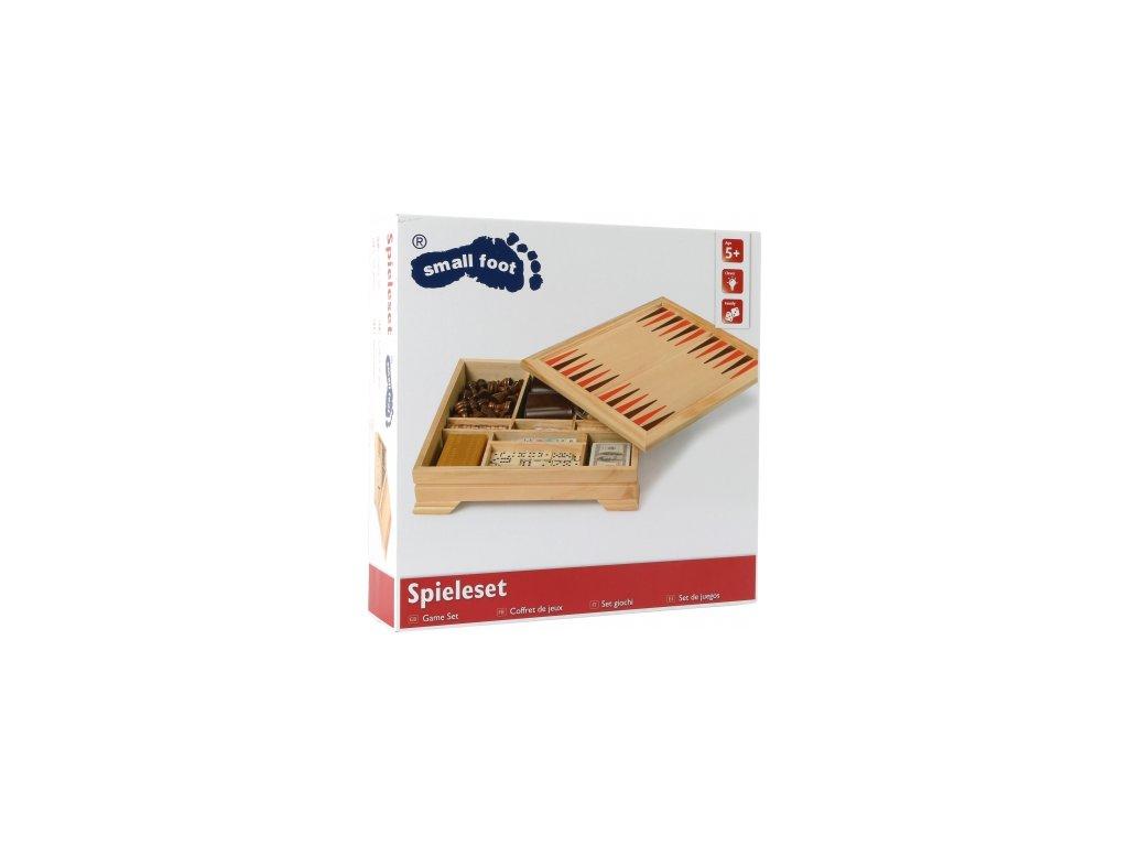 Legler | Dřevěný soubor her