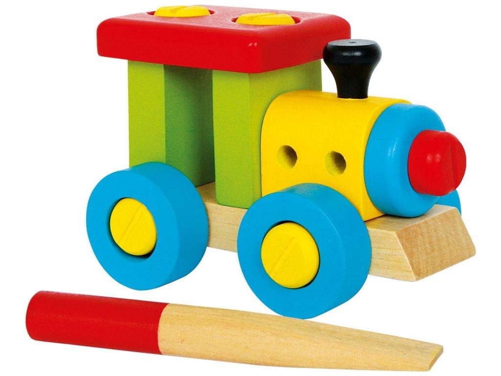 Legler | Malá konstrukční sada Lokomotiva