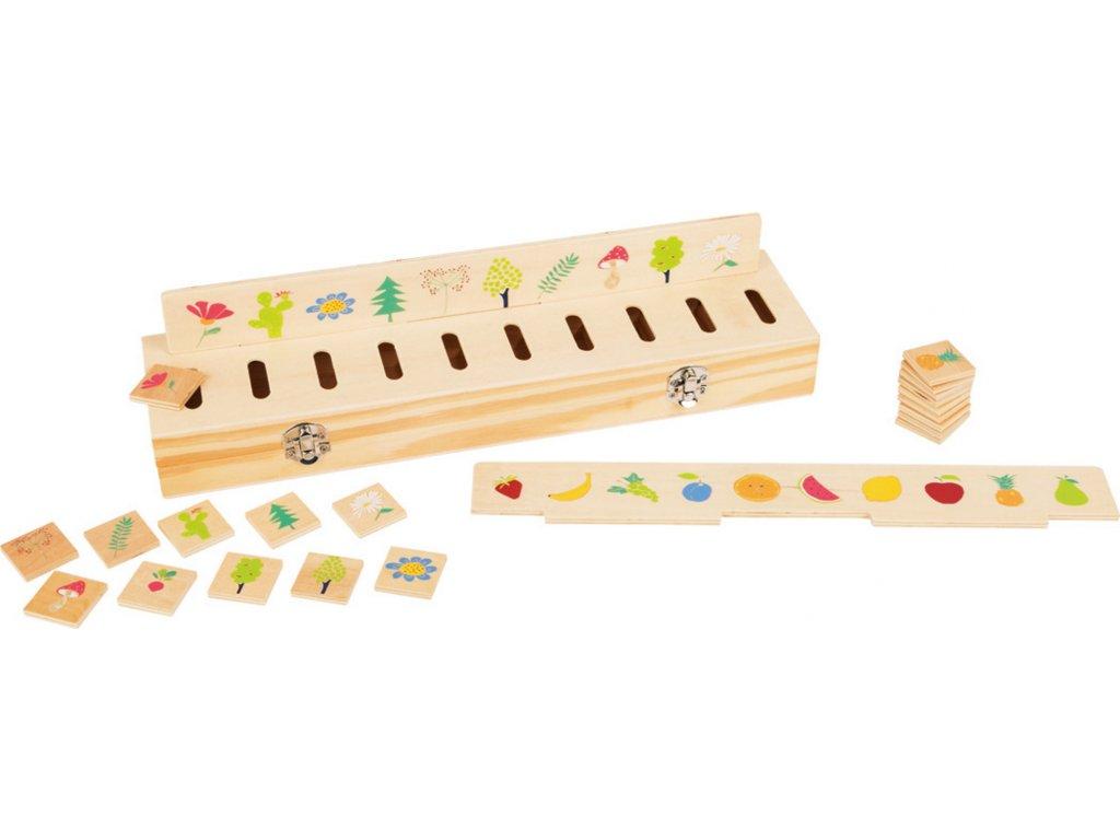 Legler | Dřevěná třídící krabička s obrázky