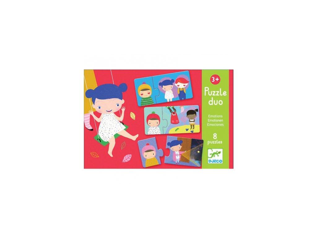 Djeco | Puzzle duo Emoce