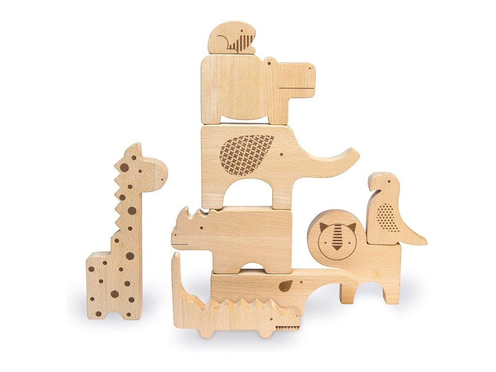 Petitcollage | Stavebnice-puzzle Safari