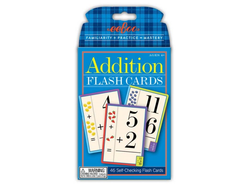 Flash Cards Addition 01