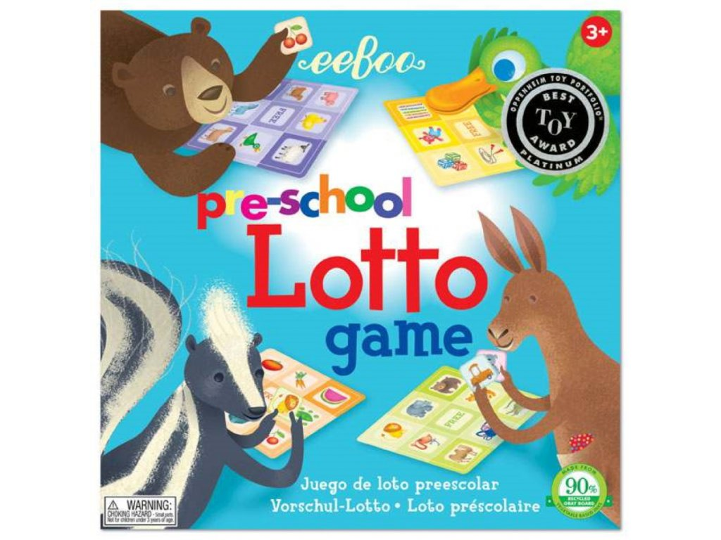 Pre School Lotto Game 01