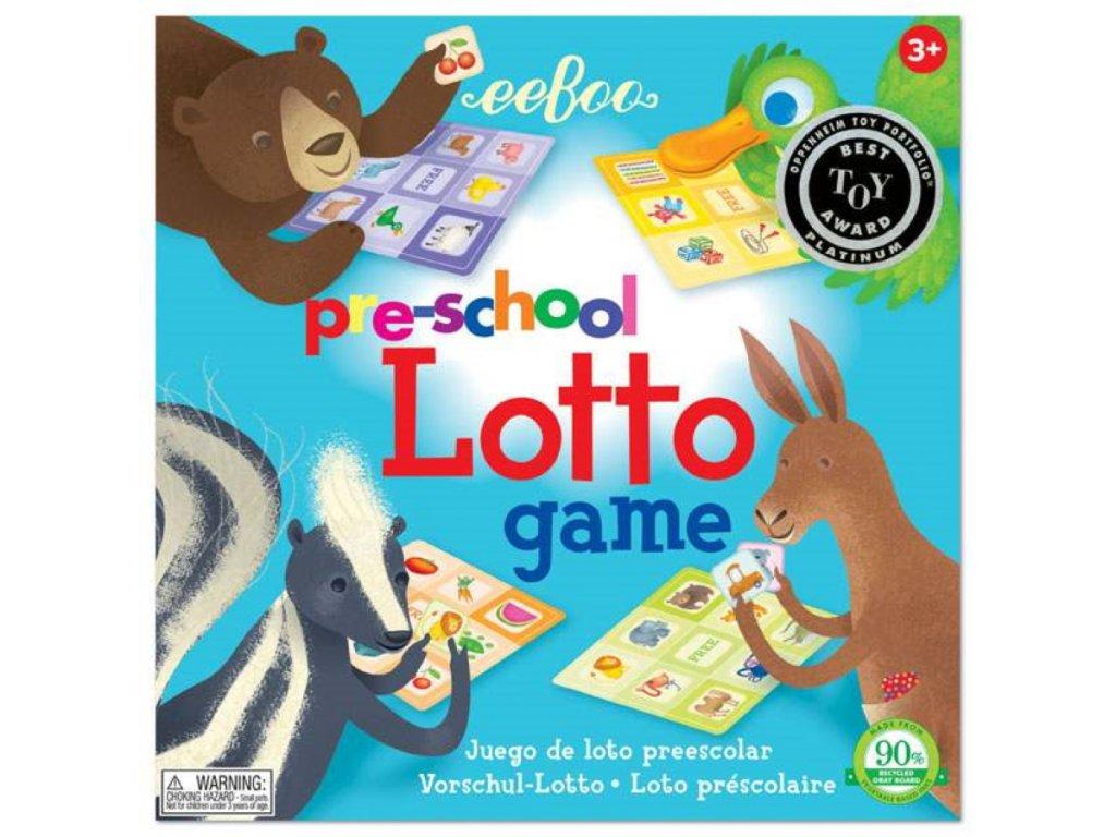 Pre School Lotto Game 01